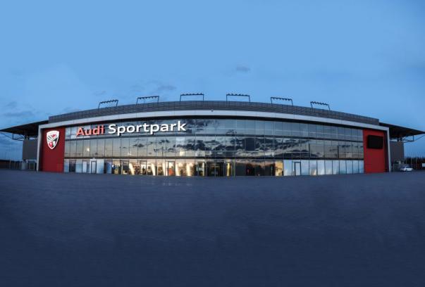 Audisportpark-Aussenansicht